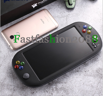 8GB Portable 7'' PSP X16 Handheld Game Console + 100 Games Built-In Camera