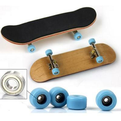 New Wooden Deck Games Kids Gift Hot Fingerboard Skateboard Maple Wood 98mm Sport