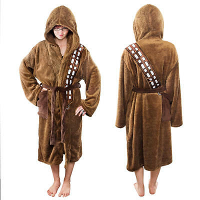 NEW: WHOLESALE JOBLOT x3 STAR WARS - CHEWBACCA Dressing Gowns/Robes (7-10 yrs)