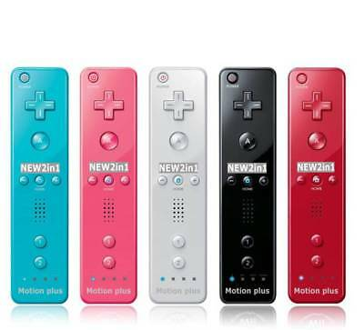 2 in1 Wiimote Bulti-in Motion Plus Inside Remote Controller For Nintendo Wii