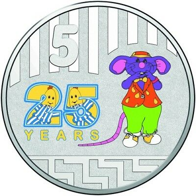 2017 Coloured Uncirculated Two Coin Set - Bananas In Pyjamas 25Th Anniversary