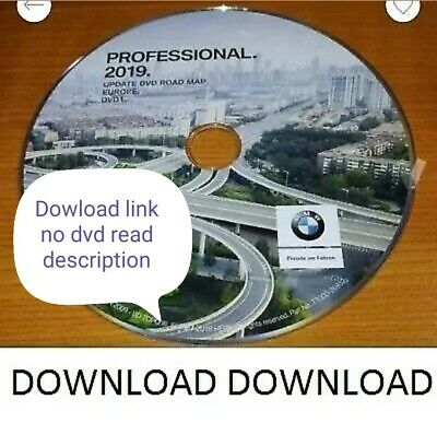 bmw dvd road map all ultime europe professional 2019 download read description