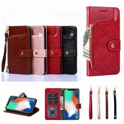 Flip PU Leather Magnetic zipper Wallet Book Case Cover For Alcatel 3/5020D/5052Y