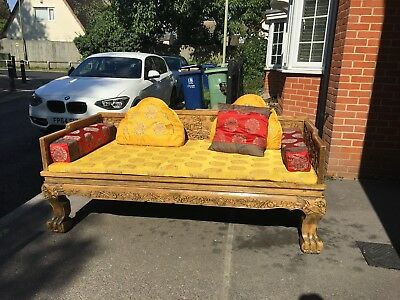 Beautiful Chinese Luohan 'Emperor' day bed