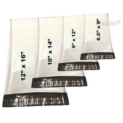 White Mailer Bags Postal sacks Plastic Envelopes Self Seal Post Mailing Bag