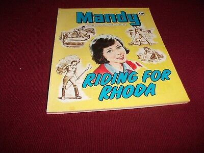 EARLY MANDY PICTURE STORY LIBRARY BOOK from 1980's- never read:  read-ex condit!