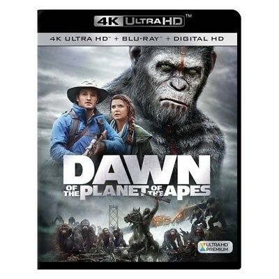 Tcfhe Br2333119 Dawn Of The Planet Of The Apes (Blu-Ray/4K-Uhd/digital Hd)