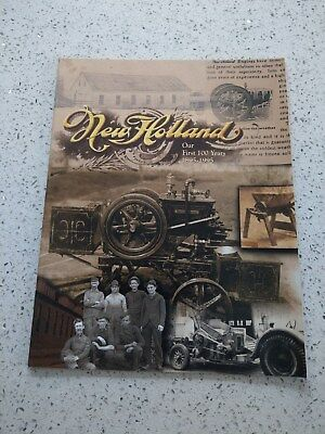 Ford New Holland 100 years Fordson Fiat tractor baler combine crawler etc