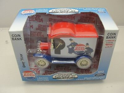 New Gearbox Toy 1912 Ford Pepsi Cola 1:24 Scale Die-Cast Bank Limited Edition