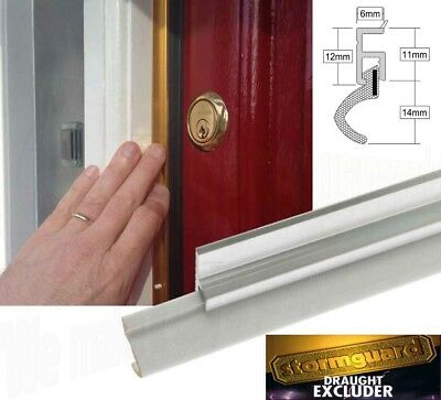Qlon Around Door Seal Durable Draught Excluder Weather Proofing Strip External