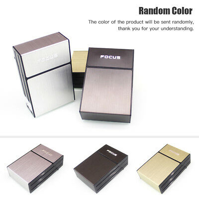 20 Loaded Plastic Cigarette Case Dispenser Pocket Tobacco Storage Box Holder US