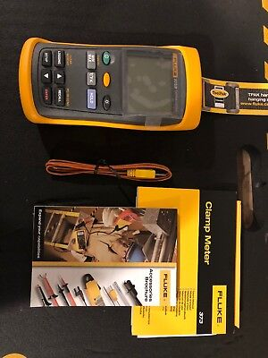 Fluke 53-2-B (53-II) Single Input Digital Thermometer with Data Logging