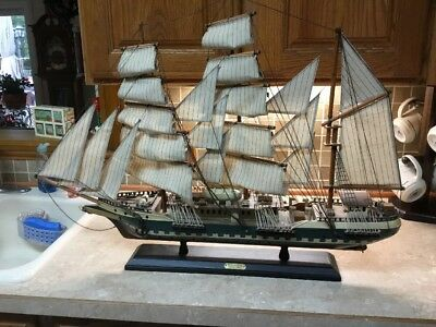 """1831 Reliance  32"""" large wood model ship Transported Convicts"""