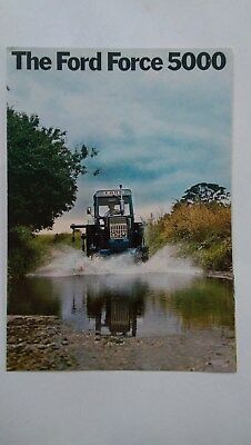 Ford 5000 tractor brochure Ford New Holland