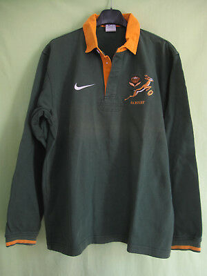 Maillot Rugby Afrique du sud Nike South Africa Coton Sport Vintage Jersey - S