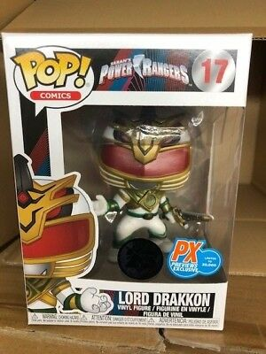 In-Hand New Funko POP Comics Power Rangers Lord Drakkon PX Exclusive Figure