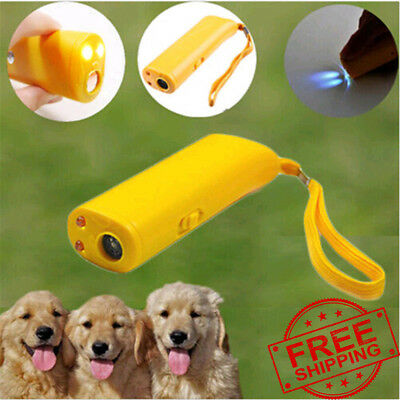 Dog Anti Bark Device Control Trainer Repeller Stop Barking Train Ultrasonic