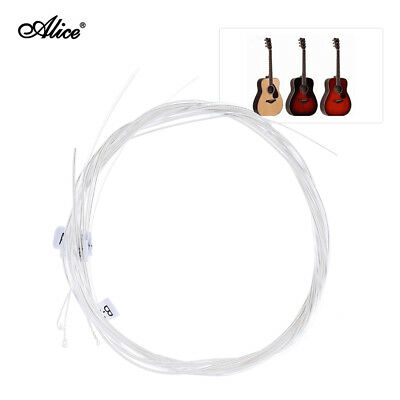 Alice 6pcs/set (.0285-.044) Hard Tension Nylon Classical Guitar Strings N1X5