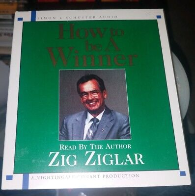 HOW TO BE A WINNER By Zig Ziglar [NEW AND SEALED] AUDIOBOOK CD