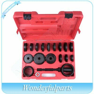 23pc FWD Front Wheel Drive Bearing Removal Adapter Puller Pulley Tool Kit + Case