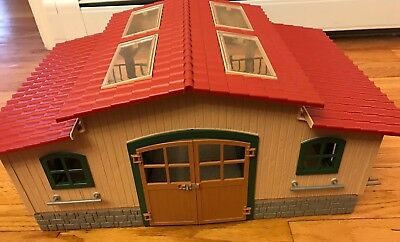 """Schleich Horse Stable Large Playset - 20"""" L x 14"""" W x 9"""" H #42103"""