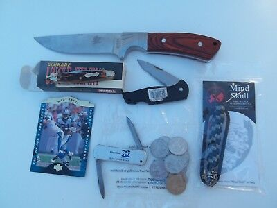 Junk Drawer Lot Knives And Tools Uncle Henry And Imperial