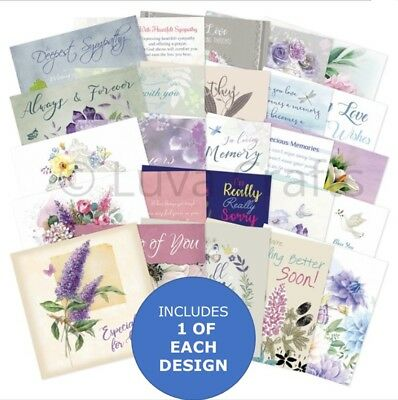 Hunkydory The Square Little Book of Thinking of  You -Sample Pack 25 Sheets 5x5""