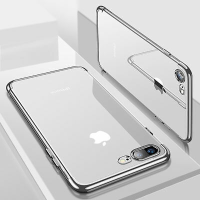 For iPhone XS MAX Case Shock Proof Crystal Clear Soft Silicone Gel Bumper Cover