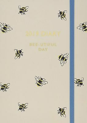Cath Kidston: Bumble Bee 2019 A6 Diary (Cath Kidston Stationery) NEW