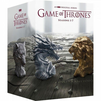 Game of Thrones Seasons One-Seven Boxset 1-7 (DVD 2017, 34-Disc) FREE SHIPPING