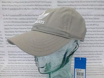 ADIDAS Original Baseball Cap Men's TREFOIL Hat One-Size Cotton Sport Caps BNWT