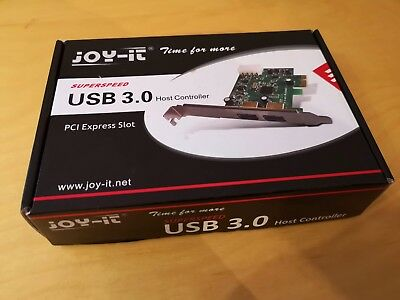 Joy - It USB 3.0 2 Port PCI Express zu USB 3.0 Host Controller Karte