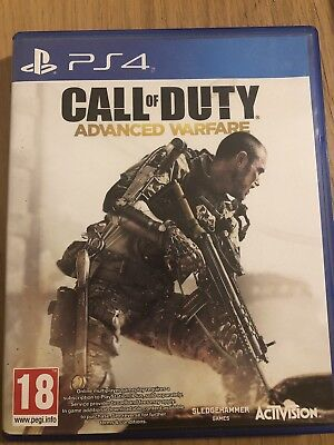 Call of Duty Advanced Warfare Sony PlayStation 4 PS4 2014 Video Game Activision