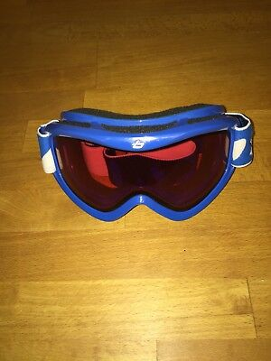 240c74c2bf8 BOLLE CHILDRENS KIDS Ski Snow Goggles Blue suitable for child age 6 ...