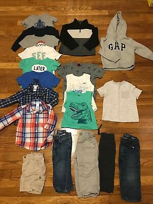 Baby Boy Clothes Lot 12-18 Months, 18-24 Months EUC 19 Pieces mixed Brands