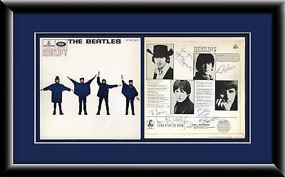 Beatles Autographed 'help!' Lp Signed On December 8Th 1965 - Frank Caiazzo Coa