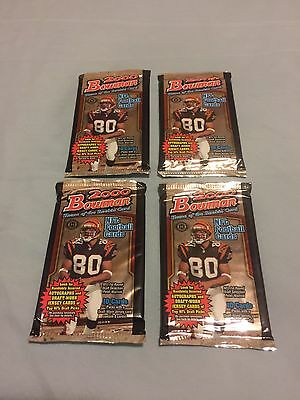 2000 Bowman Football UNOPENED Pack