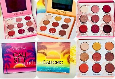 Beauty Creations CALI Glow CHIC Eye Shadow Colors SET Highlight Palettes USA