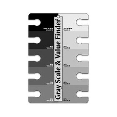 Color Wheel Company 3505 Grey Scale And Value Finder