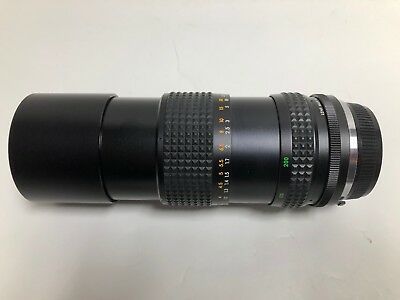 Focal MC Auto Zoom Lens 1:4.5 f=80-200mm with Case Free Shipping