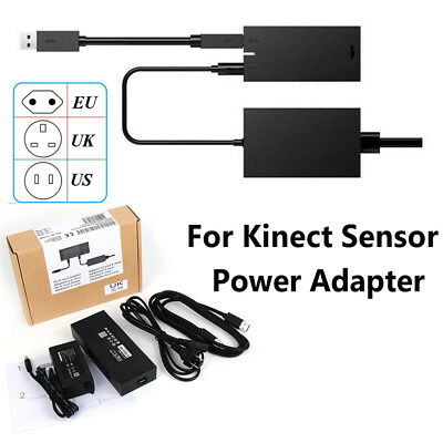 Power Adapter USB 3.0 Cable For Kinect 2.0 Sensor Xbox One S X Windows PC