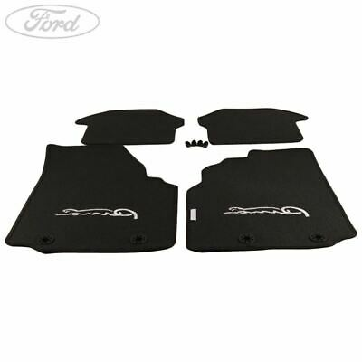 Genuine Ford Puma Mk1 Front and Rear Contour Mat Kit Anthracite 86 1093876