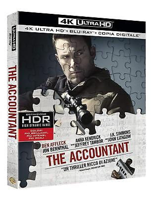 The Accountant Mr. Wolff (4K Ultra HD + Blu-ray + copia digitale)