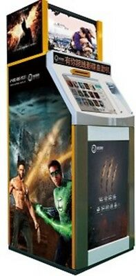DVD rental kiosk, movie Rental kiosk from manufacturer Brand new with Warranty