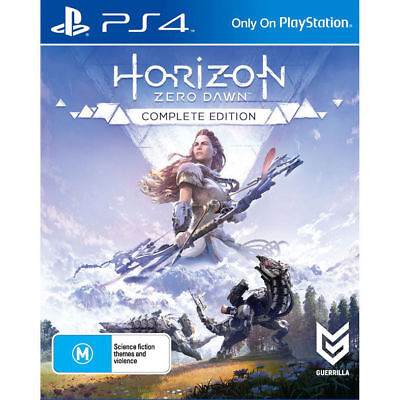 Horizon Zero Dawn Complete Edition PlayStation 4 PS4 GAME BRAND NEW FREE POSTAGE