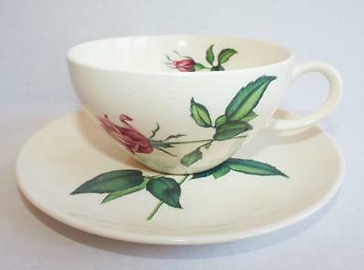 Harmony House BETSY ROSE CUP AND SAUCER Tea Coffee Floral Mug Vintage