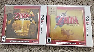 The Legend Of Zelda Ocarina Of Time And Link Between Worlds Lot Nintendo 3Ds 2Ds