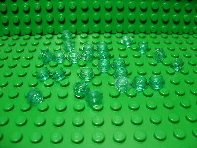 ** 25 CT LOT ** Lego NEW trans orange 1 x 1 round tile pieces  Lot of 25