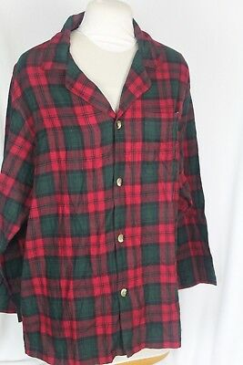 Vintage Pendleton Men's Plaid Flannel Shirt Long Sleeve Size Large NWT