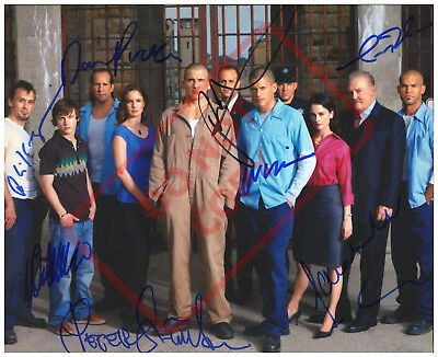 85x11 Autographed Signed Reprint Rp Photo Prison Break Cast 3